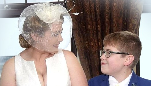 WATCH: 12-year-old son amazes with funny and sweet wedding speech