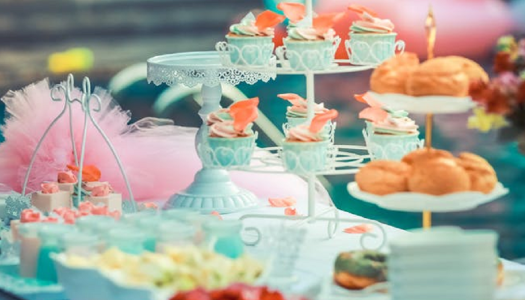 You'd have to be mad as a hatter to miss this wacky tea party