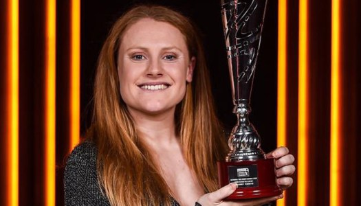 Amber earns a hat-trick of soccer awards