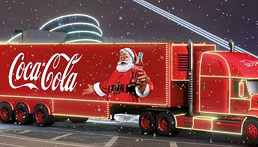 The Coca Cola truck is coming: here's where to get on board