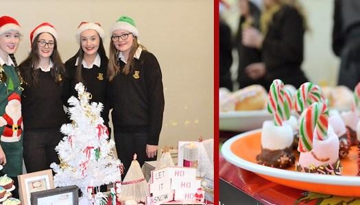 Enterprising schoolgirls get crafty for Christmas