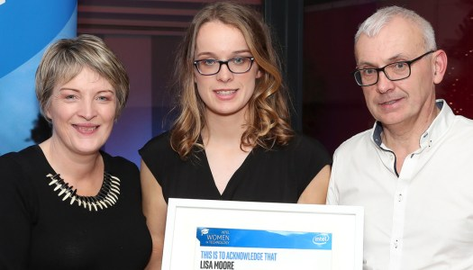 High achiever Lisa Moore wins a Women in Technology award