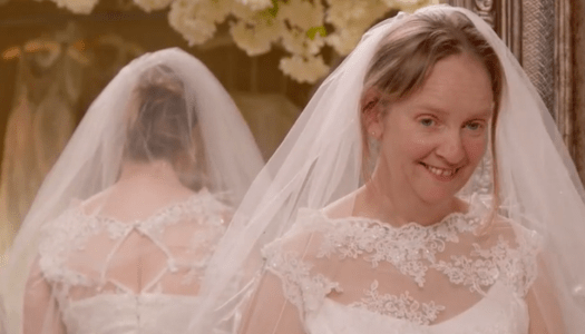 Radiant Martina gets mammy's approval to say YES to the dress