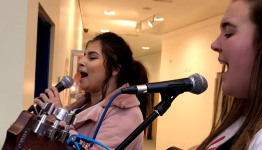 WATCH: We dare you not to get shivers from this stunning Christmas cover