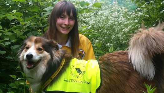 The pawsome way that Esther Jean and Scamp bring joy to Little Angels
