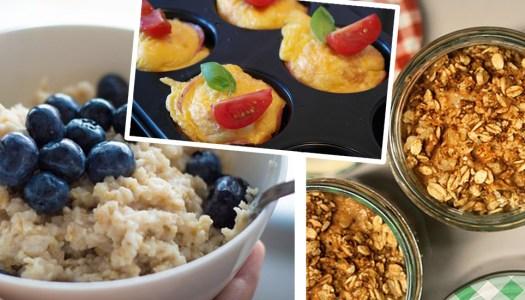 5 healthy hunger-busting breakfast ideas