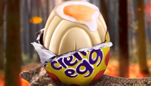 Eggcellent news: Cadbury's are releasing white chocolate creme eggs