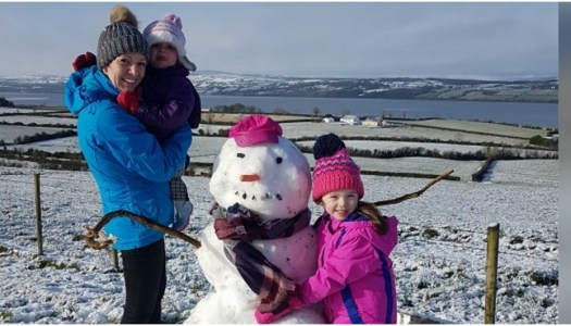 Thoroughly Modern Mammy – Snow!