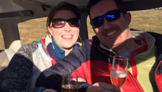 This Donegal proposal story is just plane brilliant