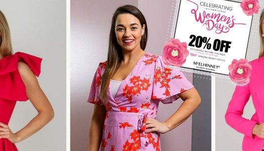 McElhinneys celebrate women this week with an exclusive discount