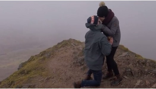 Watch: Man surprises girlfriend with heartfelt Mount Errigal proposal