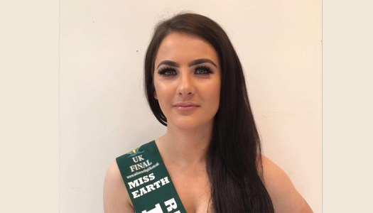 Confident Christina hopes to be Miss Earth role model