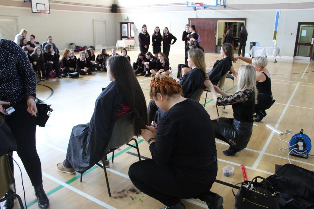 Kind-hearted students get the chop for charity – Donegal Daily