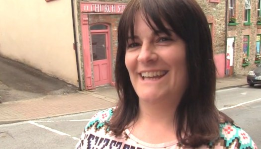 Watch: Amanda Clarke on Letterkenny's super street feast