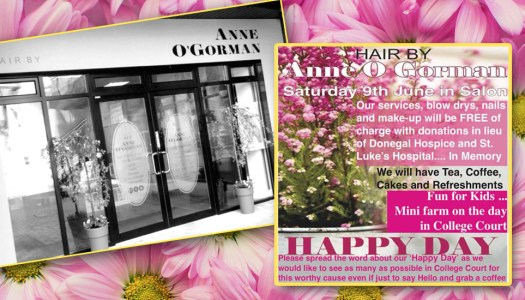 Happy Days! This hairdresser's charity day is a real weekend treat