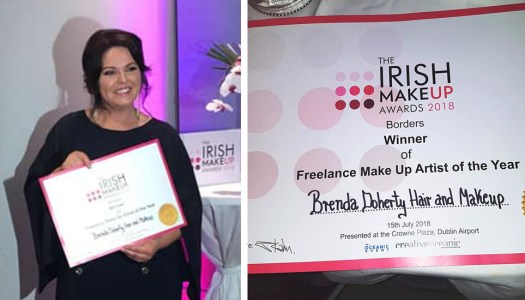 Brilliant Brenda wins big at the Irish Makeup Awards