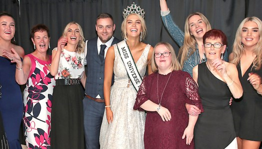 In Pictures: Grainne and family celebrate Miss Universe Ireland victory