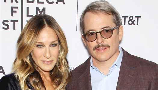 Celeb couple SJP and Matthew Broderick take a break in the hills of Donegal