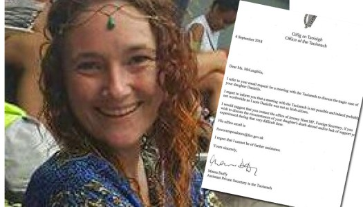 Danielle McLaughlin's mum shocked by 'disgusting' letter from Taoiseach