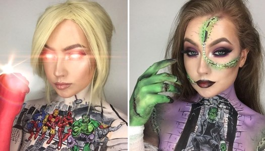 This Donegal woman's body art skills will blow your mind