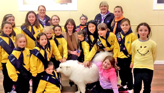 Donegal's Girl Guides explore the animal kingdom