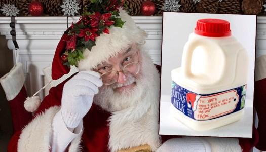 Special Santa's Milk will be back on Irish shelves for Christmas