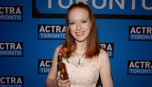 Amazing Amybeth wins Outstanding Performance ACTRA award