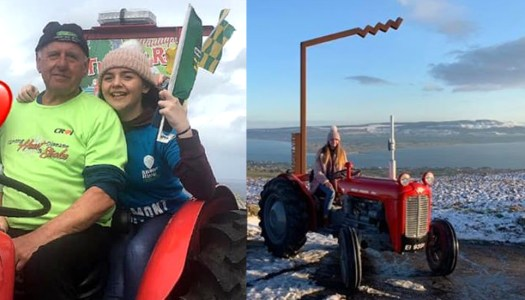 Courageous Caitlín hits the road in memory of beloved grandad