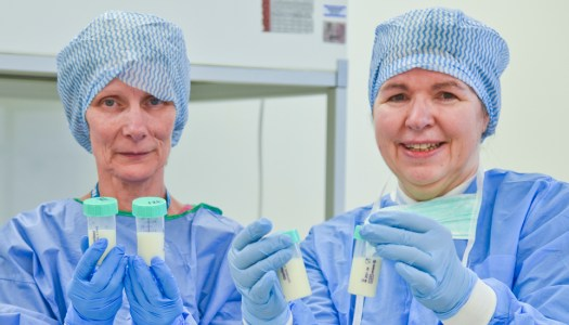 New mums urged to donate to Ireland's human milk bank