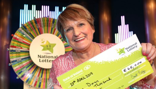 Family joy as Donegal granny spins the wheel on Winning Streak