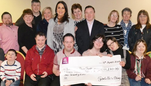 Gabrielle's Diary Ball raises grand total for Donegal Down Syndrome