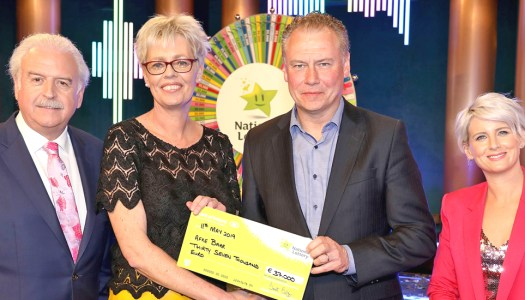 How a good luck card led Afke Barr to win €37,000!