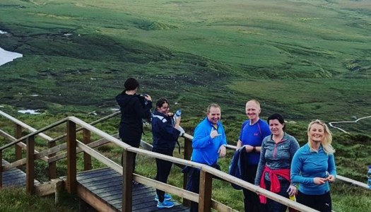 Your guide to climbing the Cuilcagh Steps