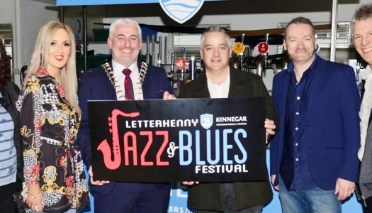 Letterkenny's first Kinnegar Jazz & Blues Festival is on the way