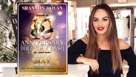 Shannon Dolan celebrating 10 years with big birthday bash!