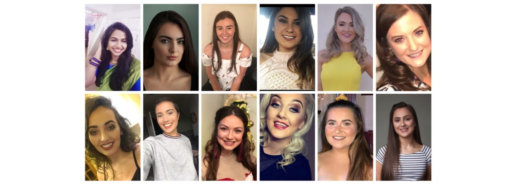 A dozen Donegal Rose hopefuls get ready for selection night
