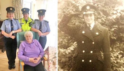 Pioneering Garda Kelly honoured among Ireland's first female recruits