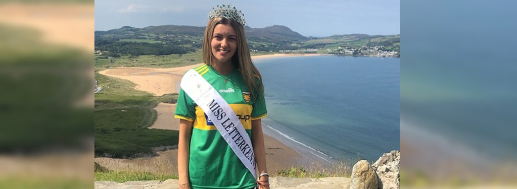 Anna Gallagher sets great goals as Miss Letterkenny 2019