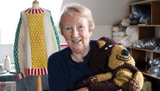 A Stitch in Time: Rosaleen Hegarty's yarn weaves through the ages