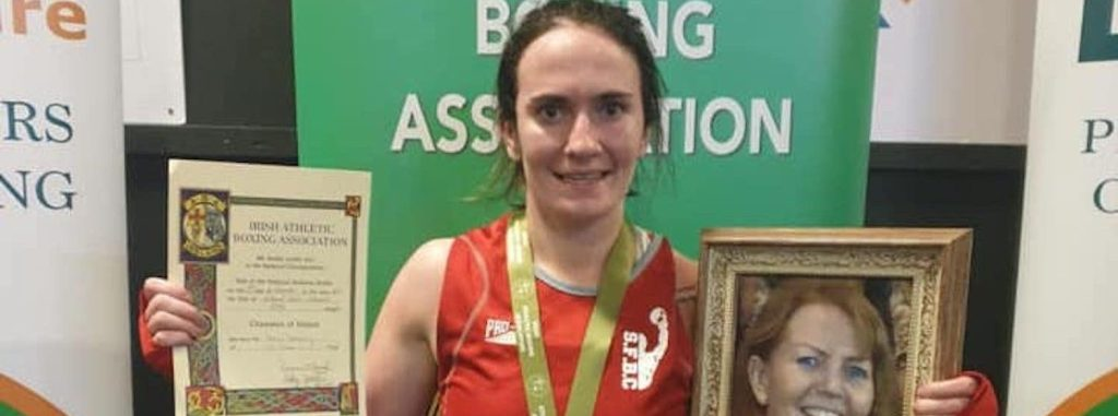 'This one's for you, mum' – Carn boxer dedicates title to late mother