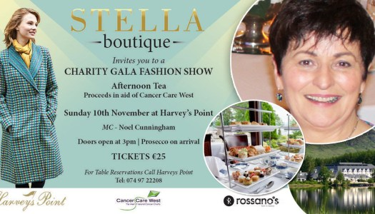 Style icon Stella to host superb charity fashion show