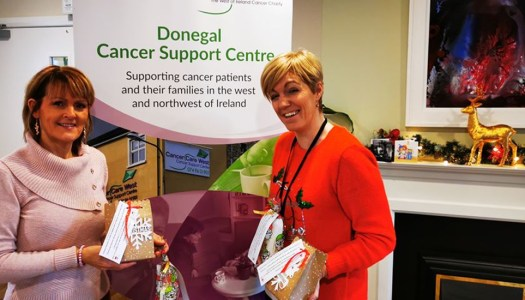 Donegal woman delivers Christmas care gifts to cancer patients
