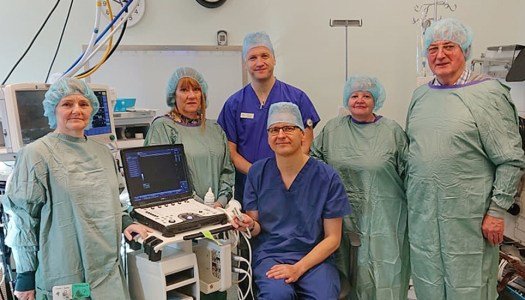 New ultrasound for Breast Centre North West thanks to generous donation