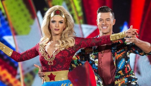'Wonder Woman' Grainne stepping close to Dancing with the Stars final