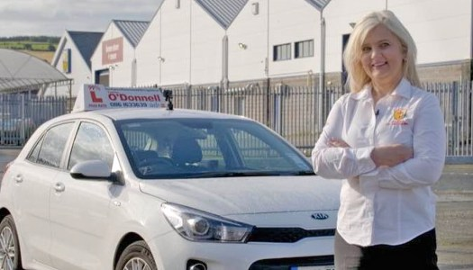 Fasten your seatbelts for Donegal driving instructor and student's TV debut