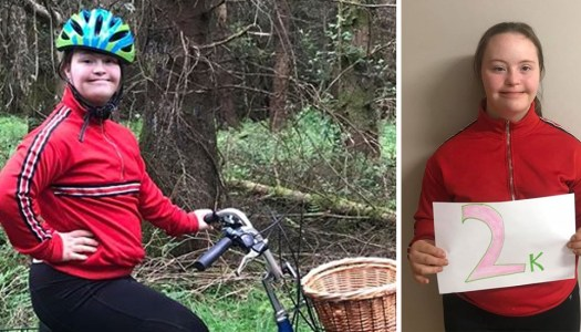 Amy (19) hits the road on an awesome fundraising adventure