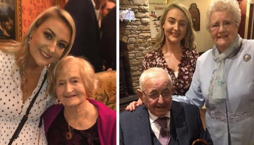 Young Letterkenny woman steps up to 100K challenge in memory of beloved grandparents