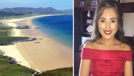 Brave young woman rescues family in beach emergency