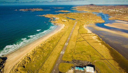 Three in a row for super-scenic Donegal Airport