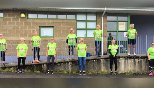 Brisk walk is a big help for local hospices